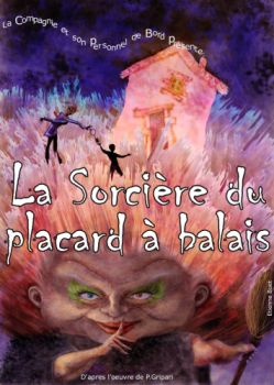 Affiche de La sorcière du placard à balais